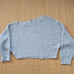 Free People XS crop sweater